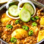 Aloo Keema – Easy Ground Beef Curry