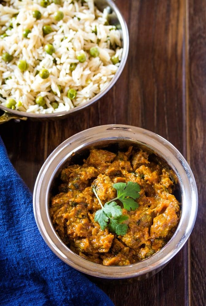 Beef Curry Bhunna Gosht
