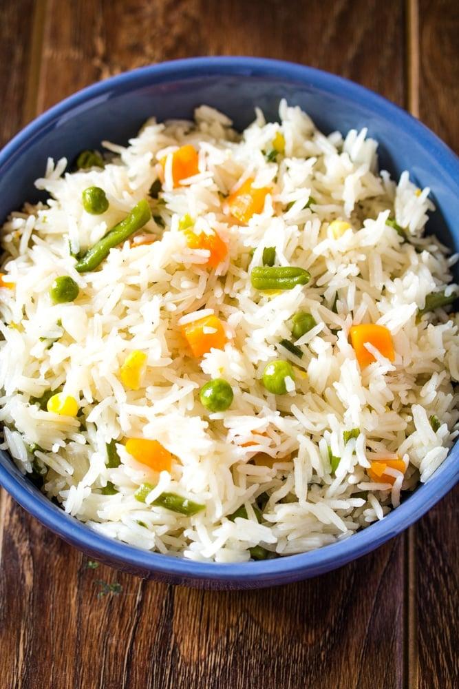 Easy Veggie Rice