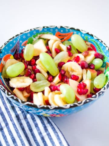 Fruit Chaat - Simple Fruit Salad