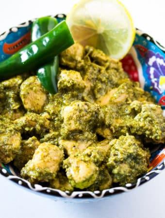 Hariyali Chicken