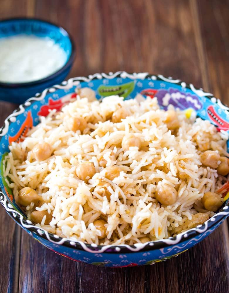 Chana-Pulao-Rice