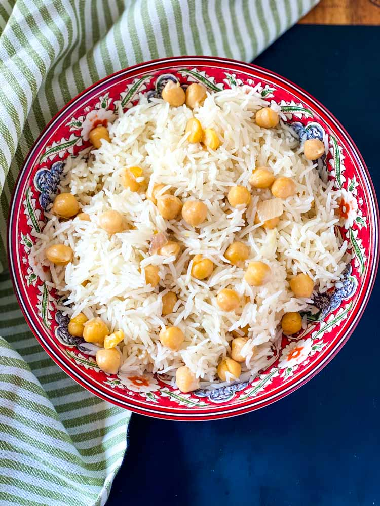 Easy Chana Pulao Recipe