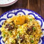 Easy Pakistani Beef Biryani Recipe – Step by Step Photos included!