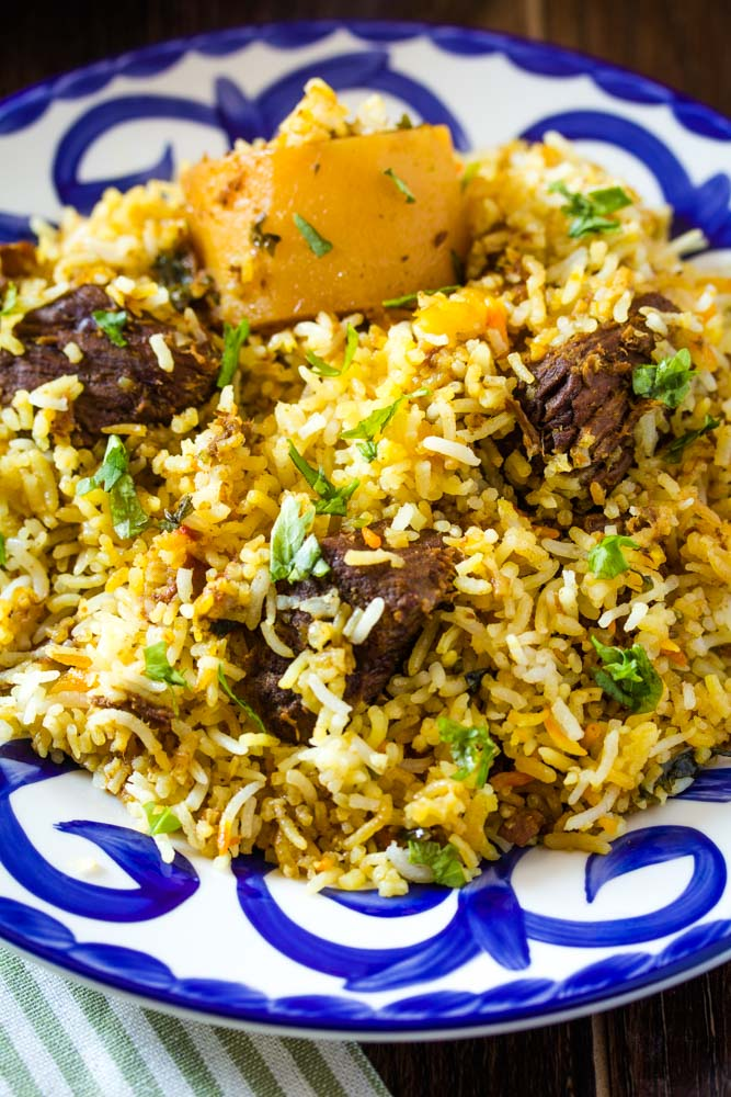 Pakistani Beef Biryani Recipe