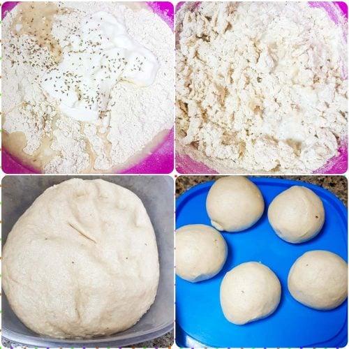 Poori Recipe Ingredients in a Mixing Bowl