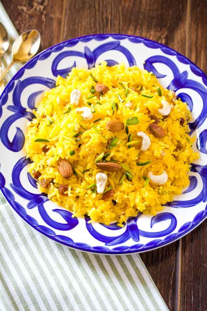 Meethe Chawal Zarda Recipe