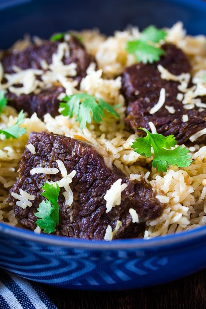 pakistani beef yakhni pulao