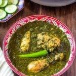 Palak Chicken (Saag Wala Chicken)
