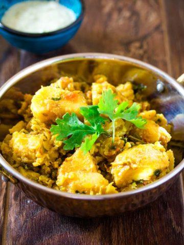 Pakistani Aloo Gobi Recipe