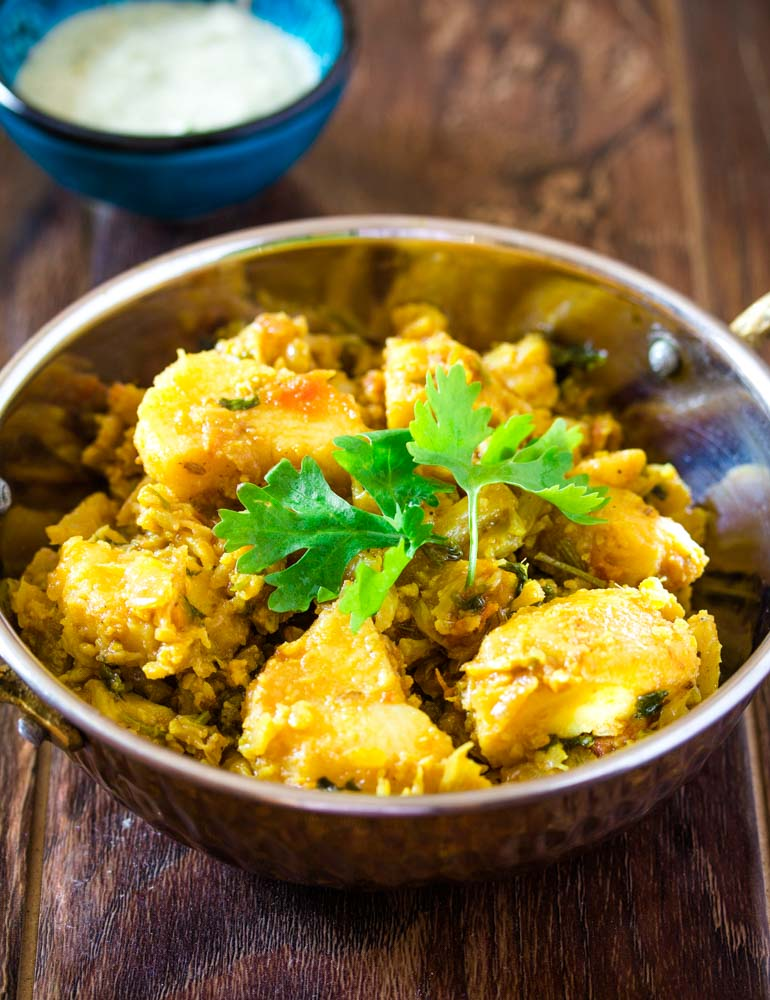 Pakistani Aloo Gobi Recipe