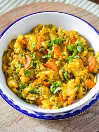 mixed sabzi recipe