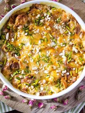 Om Ali Recipe (Egyptian Bread Pudding)
