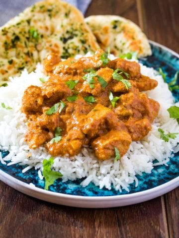 Chicken Tikka Masala (Instant Pot + Stove Top)