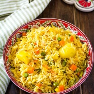 instant pot tehri rice