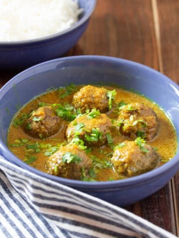 How to Make Pakistani Beef Kofta Curry